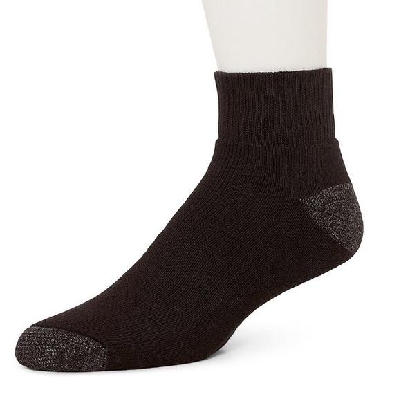 6a88a1d89e90e Burlington Underwear & Socks | 10 Pairs Black Socks Quarter Top Made ...
